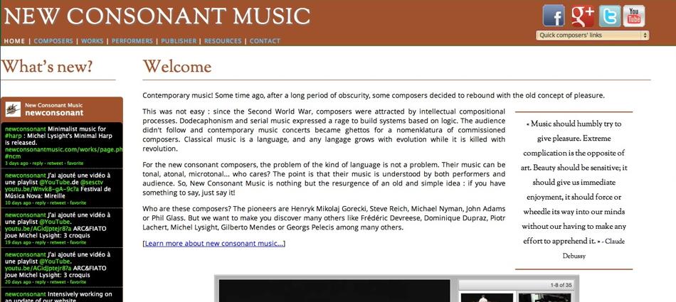 New Consonant Music